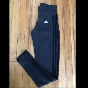 Dark gray adidas leggings